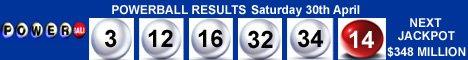 Powerball Winning Numbers