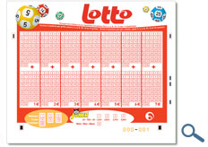 Belgium Lotto playslip