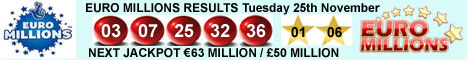 Euro Millions Results