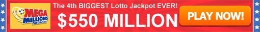 Mega Millions 550 Million Jackpot