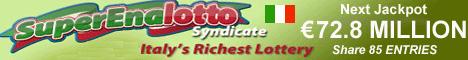 Italian Lottery SuperEnalotto Syndicate