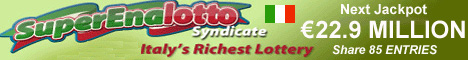 Italian Lottery SuperEnalotto Syndicate