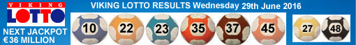 Viking Lotto Results