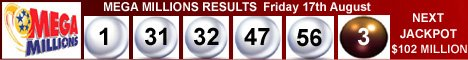 Mega Millions Lottery Results