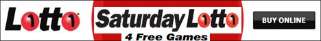OzLotteries Saturday Lotto Banner